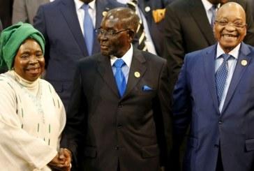 Zuma, Nkosazana et Mugabé   Objectif: saboter le Maghreb