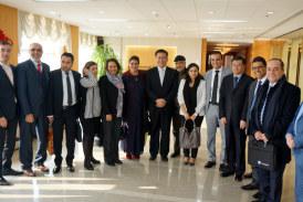 Une délégation marocaine effectue une visite en Chine