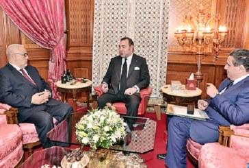 Le Roi reçoit à Casablanca le Chef du gouvernement et le Ministre de l'agriculture et de la pêche maritime