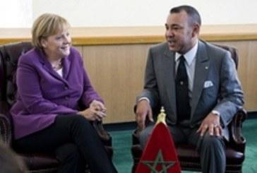 Migrations et faux réfugiés au coeur de l'entretien entre le Roi Mohammed VI et Angela Merkel