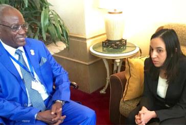 Addis-Abeba : Entretiens de Mbarka Bouaida avec plusieurs ministres africains des Affaires étrangères