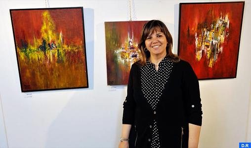Peinture : Hayat Saidi participe à une exposition collective à Berlin