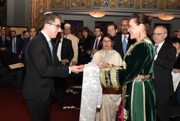 L'hommage de la communauté juive américaine à feu le Roi Mohammed V