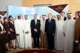 Inauguration du premier vol Abou Dhabi-Rabat