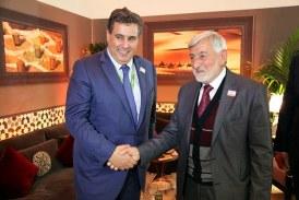 Aziz Akhannouch s'entretient avec son homologue palestinien