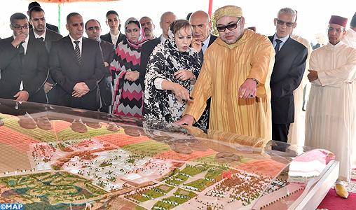 Le Roi lance les travaux de réalisation de la technopôle Foum El Oued – Laâyoune