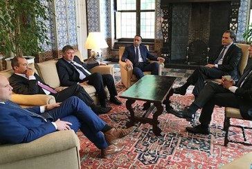 Hassad et Hammouchi effectuent une visite à Bruxelles