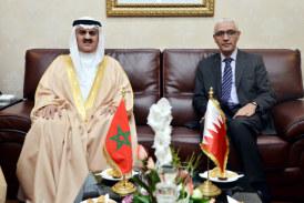Rachid Talbi Alami s'entretient avec Ahmed Ben Ibrahim Al-Mella