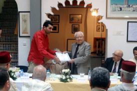 Tanger : Remise des prix d'Abdellah Guennoun