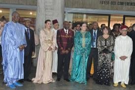 La Princesse Lalla Hasnaa lance la Semaine africaine de l'UNESCO