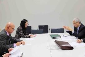 Nizar Baraka s'entretient avec des responsables de la CCNUCC