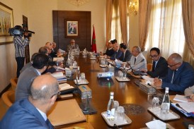 Benkirane préside la première réunion de la CNC