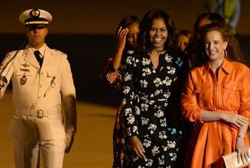 La Première Dame des Etats-Unis promet de venir à bout de l'exclusion des jeunes filles de l'éducation dans le monde