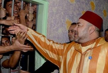 La politique de proximité royale : Le Roi Mohammed VI lance à Oukacha le programme d'appui d'auto- emploi et de réinsertion des anciens détenus
