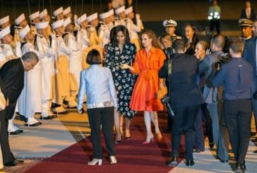 Michelle Obama à Marrakech pour plaider en faveur de la scolarisation des filles