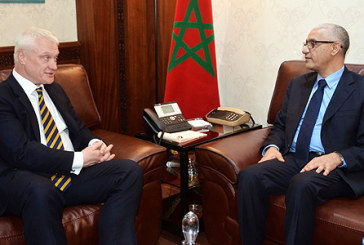 Les changements climatiques et le rôle des institutions législatives, au menu des discussions entre M. Talbi Alami et le président du CA de Globe International