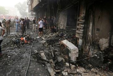 Attentat terroriste à Bagdad: le bilan passe à 213 morts