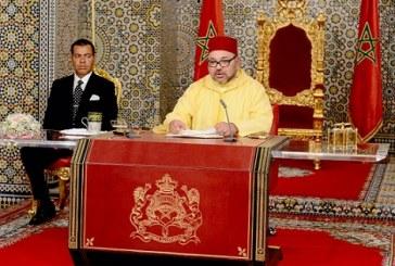 Discours du Trône: le Roi Mohammed VI réitère  sa détermination à poursuivre les réformes de modernisation