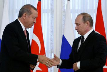 Syrie: Erdogan et Poutine d'accord pour accélérer l'aide humanitaire à Alep