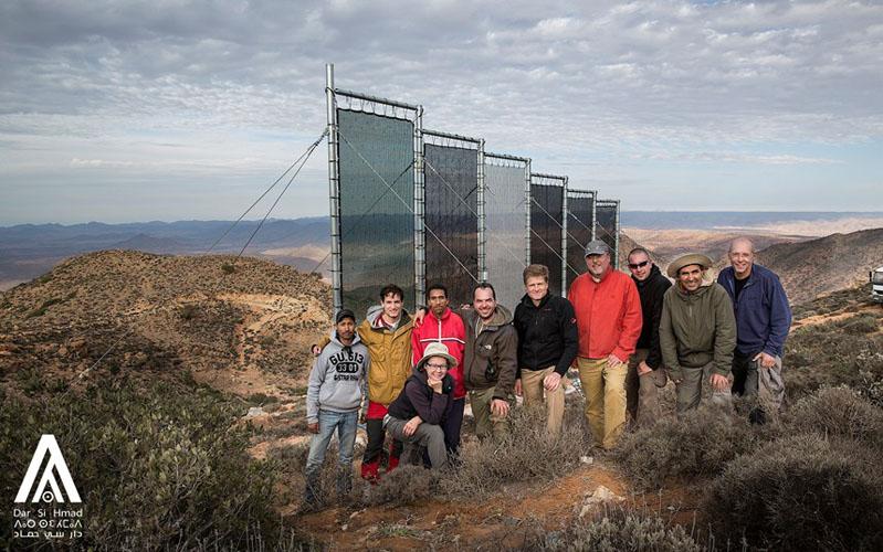 Le projet marocain de collecte d'eau de brouillard primé par l'ONU