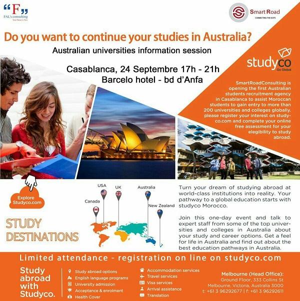 Premier Forum des universités Australiennes au Maroc