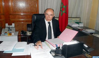 L'ambassadeur du Maroc à Conakry, Majid Halim, décoré par Alpha Condé au terme de sa mission
