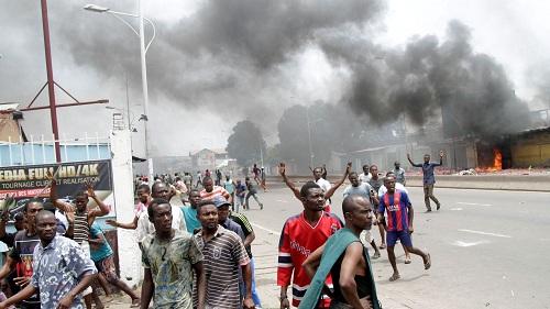 RD Congo : le siège du principal parti d'opposition en feu à Kinshasa
