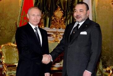 Message de félicitations à SM le Roi du président russe à l'occasion de la Fête de la Jeunesse