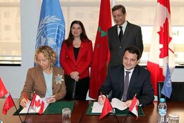 Entente de subvention entre le Canada et le PNUD, en appui à l'organisation de la COP22