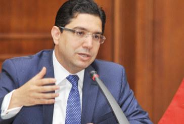 Nasser Bourita annonce la rupture des relations diplomatiques du Maroc avec l'Iran