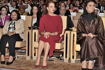 SAR la Princesse Lalla Salma prend part à Doha à l'ouverture du Sommet mondial de l'innovation pour la santé