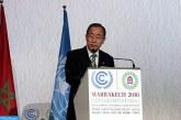 Ban ki-moon dit admirer le leadership de SM le Roi dans la mobilisation de l'action internationale contre les changements climatiques