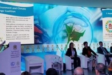 COP 22 : Signature de la déclaration ministérielle sur la santé, l'environnement et les changements climatiques