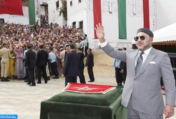 SM le Roi lance les travaux d'aménagement de la promenade maritime de la Mosquée Hassan II de Casablanca