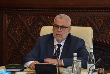Sur Hautes instructions de SM le Roi, les conseillers du Souverain Abdelatif MENNOUNI ET Omar KABBAJ ont eu une entrevue avec le chef du gouvernement désigné