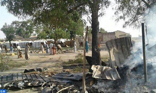 Bombardement d'un camp de déplacés au Nigeria: le bilan s'alourdit à 90 morts