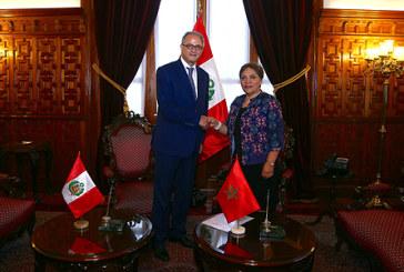 Examen à Lima des moyens de renforcer la coopération parlementaire entre le Maroc et le Pérou