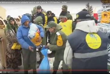 La Fondation Mohammed V pour la solidarité se mobilise contre le froid à Ifrane