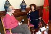 """Leïla Slimani présente à Paris son roman """"Chanson douce"""""""