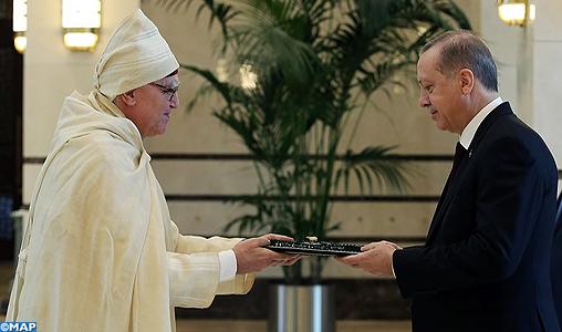 Le nouvel ambassadeur du Maroc à Ankara remet ses lettres de créance au Président turc