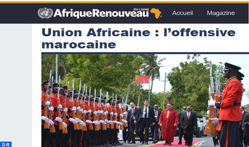 """Le Maroc s'affirme en tant que """"force économique majeure"""" en Afrique"""
