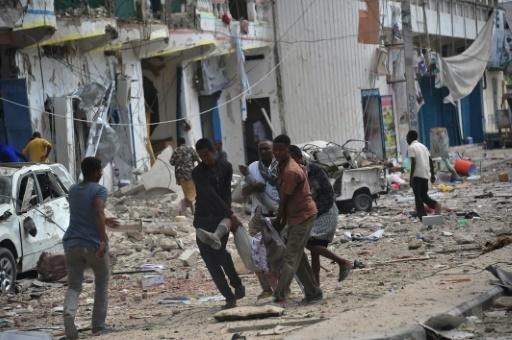 Somalie: au moins 28 morts dans une double explosion près d'un hôtel de Mogadiscio