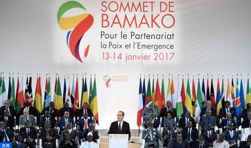 """Le Sommet Afrique-France se félicite de """"la réussite"""" de la COP 22 tenue à Marrakech"""