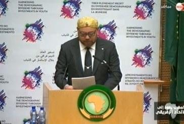 SM le Roi prononce un discours devant le 28ème sommet de l'Union africaine