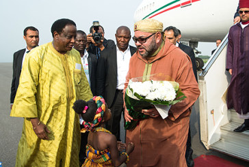 Arrivée de SM le Roi Mohammed VI à Accra pour une visite officielle en République du Ghana