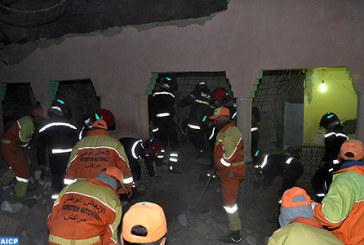 Trois personnes d'une même famille périssent dans l'effondrement d'une maison à Marrakech