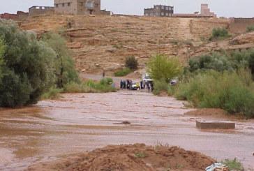 Province de Guelmim: des routes coupées à cause des pluies