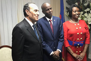 M. El Malki représente SM le Roi à la cérémonie d'investiture du nouveau Président de Haïti