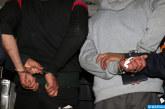 Saisie de 8,5 t de kif granulé et 300 kg de kif en tiges et arrestation de cinq personnes