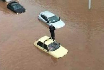 Des précipitations torrentielles inondent les grandes artères de Salé et coupent la circulation